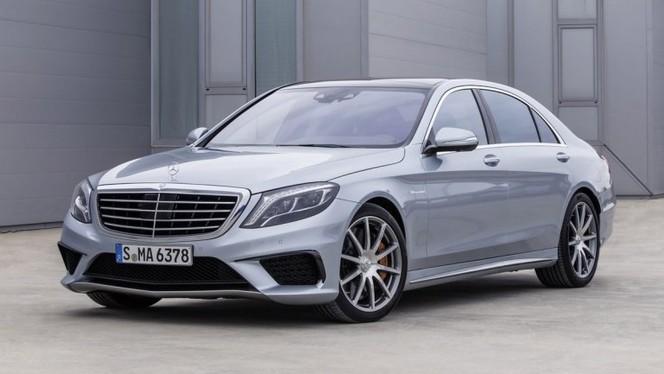 Toutes les nouveautés du salon de Francfort 2013 - Mercedes Classe S 63 AMG : limousine sportive