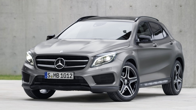 Toutes les nouveautés du salon de Francfort 2013 - Mercedes GLA : Classe A baroudeuse