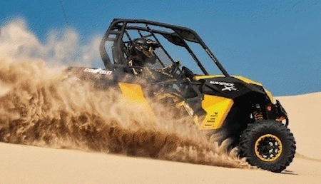 Can-Am: le SSV Maverick X rs