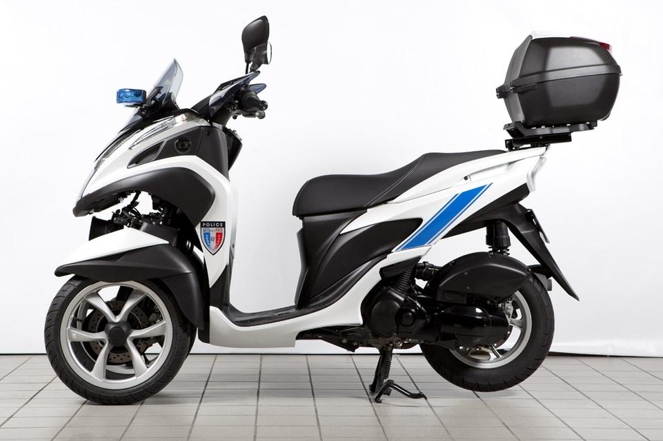 Yamaha : le Tricity 125 équipe les services de Police