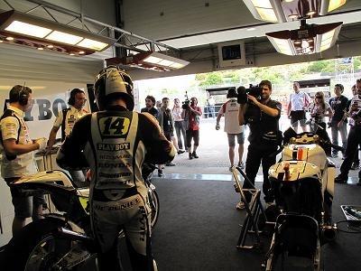 Moto GP - Espagne D.1: Randy se pique au jeu
