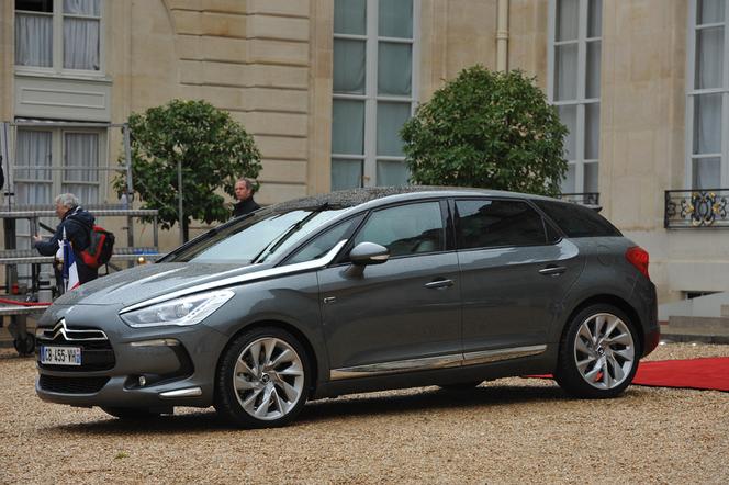 Citroën DS5 Hy4 présidentielle : les détails de la transformation en photos et vidéo