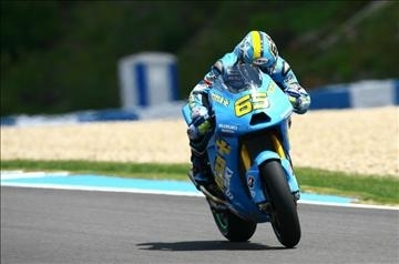 Moto GP - Espagne D.1: Suzuki a mis la gomme et fait du boudin