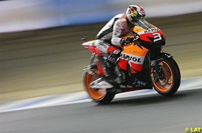 Moto GP - Espagne D.2: Pedrosa sonne la charge espagnole