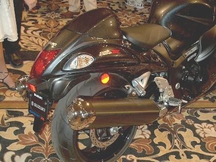 Suzuki GSX-R Hayabusa 2008 : la présentation