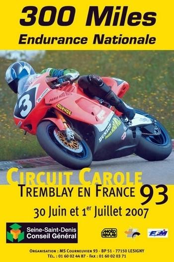 30 Juin et 1 Juillet : Rendez-vous aux 300 Miles de Carole (93)
