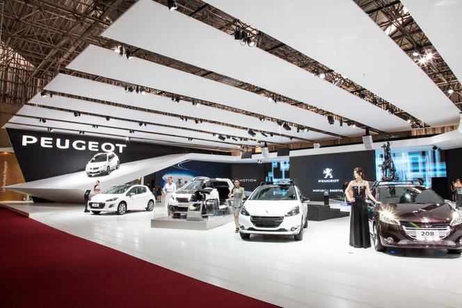 Peugeot présente les 208 Natural et Urb au salon de Sao Paulo 2014
