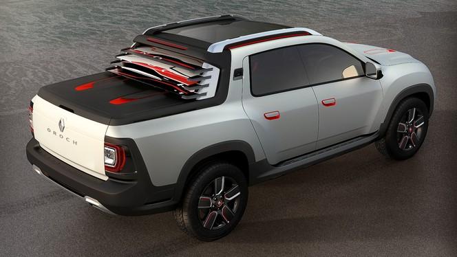 Salon de Sao Paulo 2014 - Le Renault Duster Oroch (pick-up) enfin
