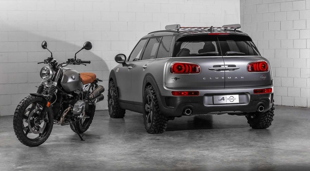 Mini Clubman ALL4 Scrambler Concept : le baroudeur des motards