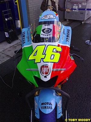 Moto GP: Pays Bas D.2: Rossi avant la pluie.