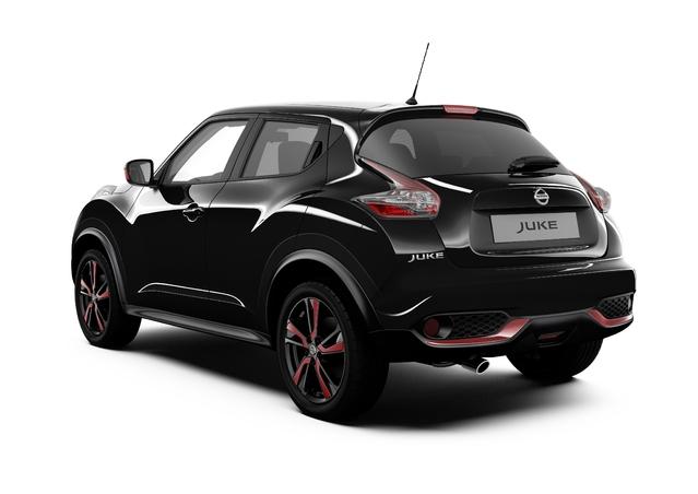 """Nissan lance la série limitée """"Red Touch"""" sur le Juke"""