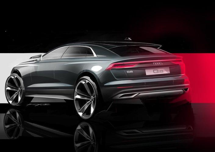 Audi Q8: son visage dévoilé
