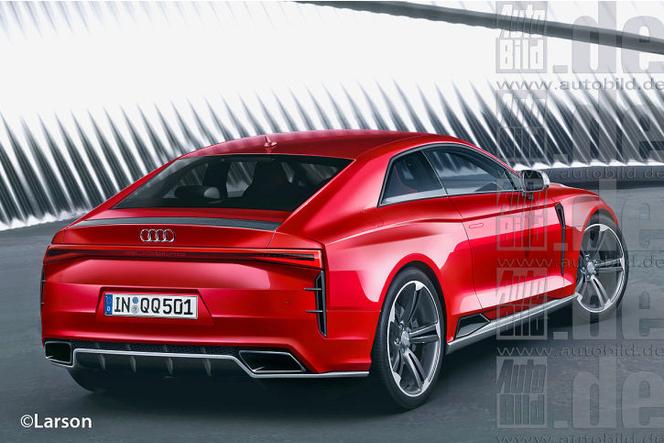 La nouvelle Audi Quattro Concept sur base d'A6