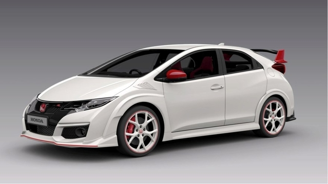 honda premi re s rie sp ciale white edition pour la civic type r. Black Bedroom Furniture Sets. Home Design Ideas