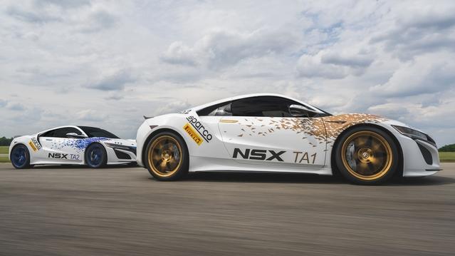 Trois Honda NSX pour le centenaire de Pikes Peak