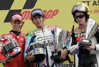 Moto GP: Pays Bas D.3: Rossi remet les pendules à l'heure.
