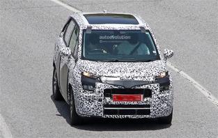 Surprise : le futur Citroën C3 Picasso se promène