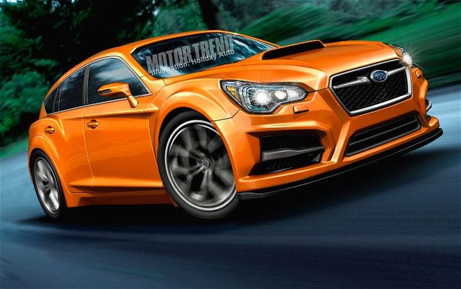 La future Subaru WRX annoncée par le concept Advanced Tourer ?