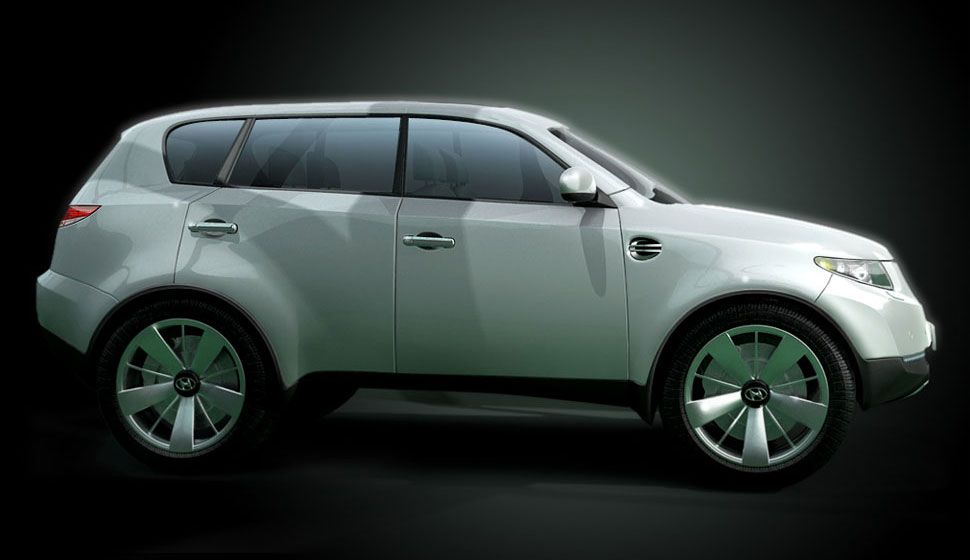 hyundai terracan concept 39 oh my god is it real. Black Bedroom Furniture Sets. Home Design Ideas