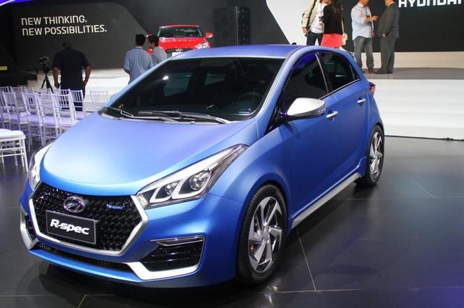 Salon de Sao Paulo 2014 - Hyundai dévoile son concept HB20 R-Spec