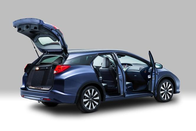 la nouvelle honda civic tourer break en photos et vid o. Black Bedroom Furniture Sets. Home Design Ideas