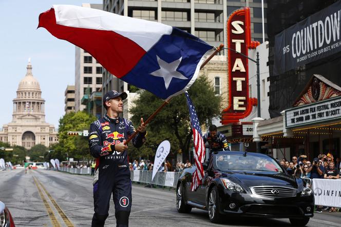 Infiniti fait le show dans les rues d'Austin
