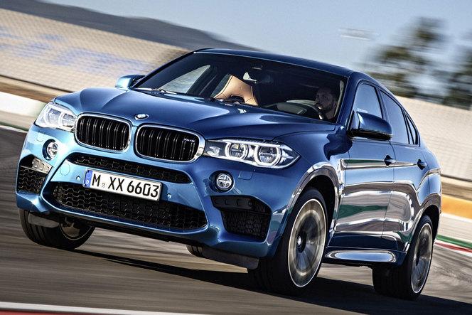 Los Angeles 2014 - Nouveaux BMW X5 et X6 M: moteur!