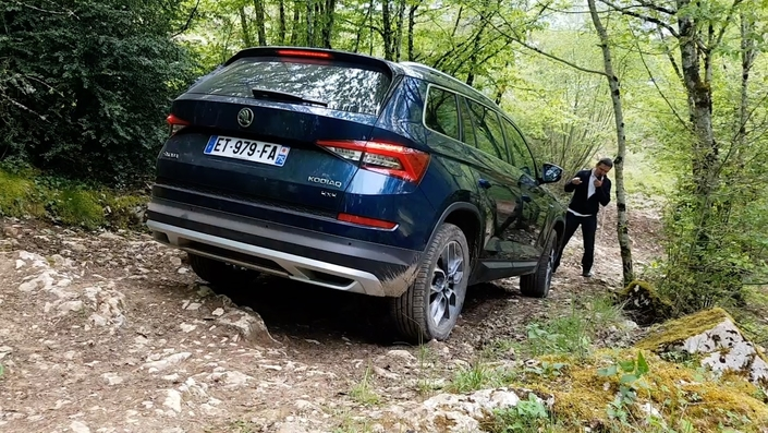 Skoda Kodiaq: un vrai SUV, la preuve par 4x4 (reportage vidéo)