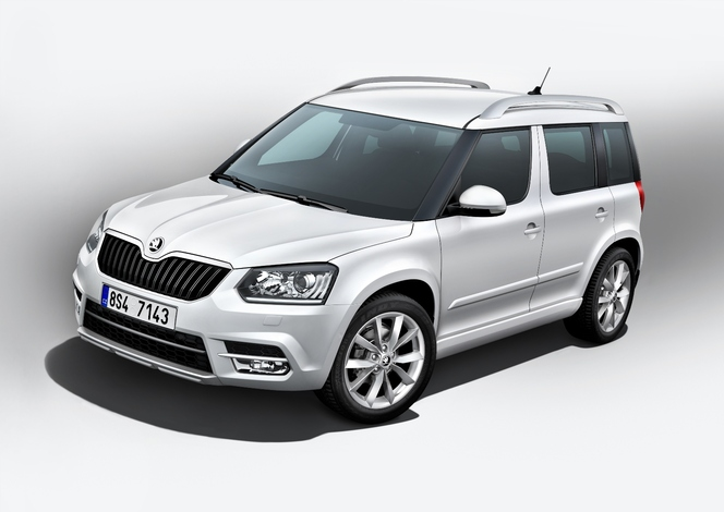 francfort 2013 skoda yeti restyl tes vous plut t. Black Bedroom Furniture Sets. Home Design Ideas