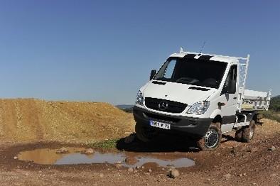 Nouveau Mercedes Sprinter 4x4: présentation
