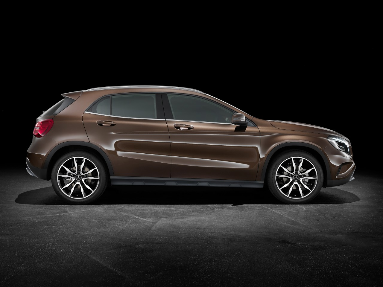 2014 mercedes gla dark cars wallpapers. Black Bedroom Furniture Sets. Home Design Ideas