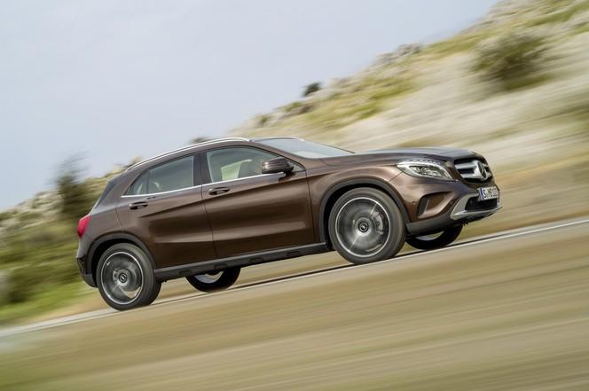 Nouveau Mercedes GLA, le voilà (photos et vidéos)