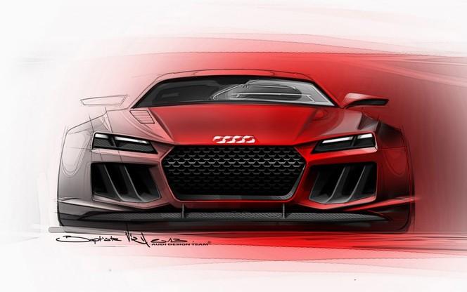 Francfort 2013 : l'Audi quattro Sport e-Tron Concept se confirme