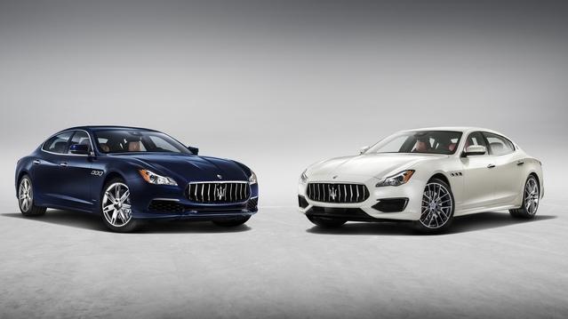 Maserati dévoile la Quattroporte restylée