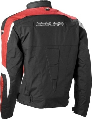 Nouveauté 2009 : Segura Stuart, blouson textile au look racing.