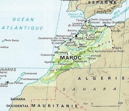 Carnet de Voyage : En route pour le Maroc...