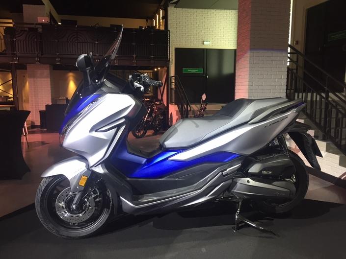Honda : le Forza 125 2019 se dévoile