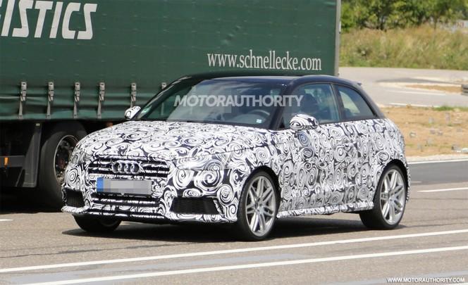 Surprise : l'Audi S1 fignolée avant son lancement