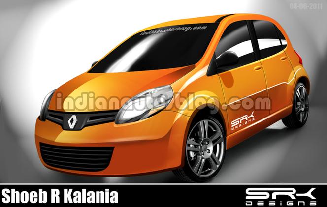 Renault vise l'Inde avec une citadine low cost