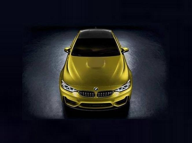 BMW M4 Concept, première image en fuite ?
