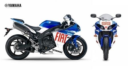 4 modèles Replica de la Yamaha YZF R1 2009