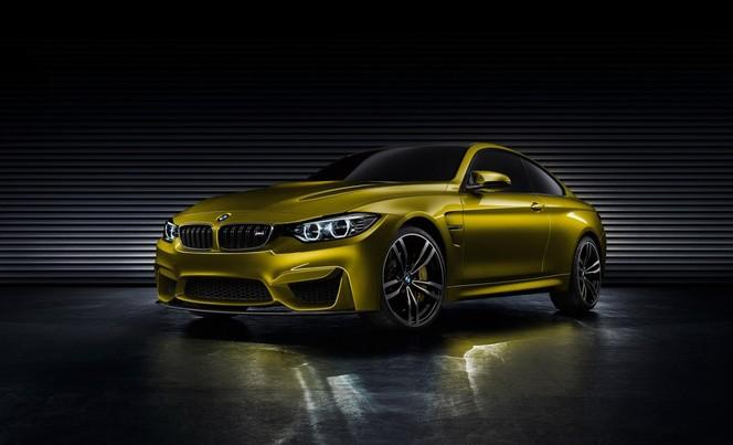 BMW M4 Coupé Concept : toutes les photos officielles en avance !