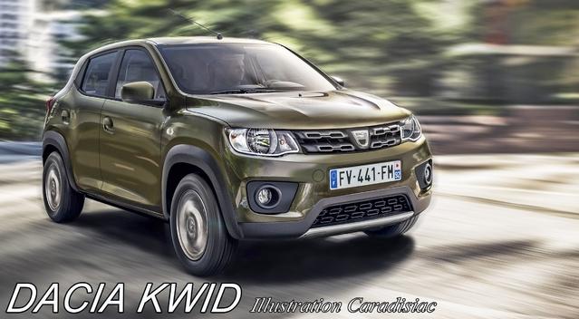 Une Dacia Kwid pour 2018