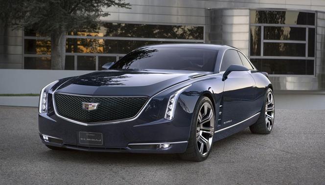 Pebble Beach 2013 : Cadillac Elmiraj Concept, le Ciel est couvert