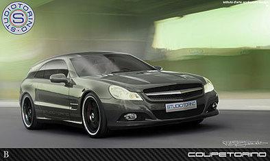 StudioTorino Coupetorino : un Mercedes SL façon Alfredo Stola