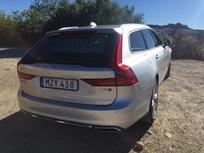 Première vidéo de la Volvo V90: découvrez les premières images de l'essai en direct