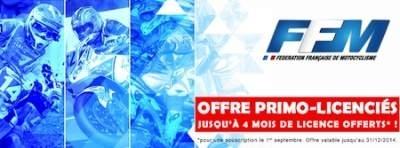 FFM, offre primo-licenciés: jusqu'à 4 mois gratos