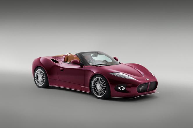 Pebble Beach 2013 : Spyker B6 Venator Spyder concept