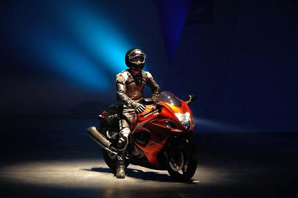 Suzuki : présentation de la gamme 2008 à Rome