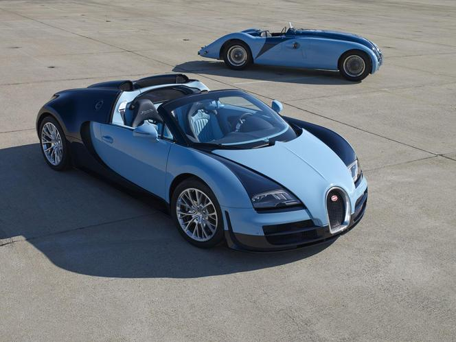 Pebble Beach 2013 : Bugatti Veyron Grand Sport Legend Jean-Pierre Wimille